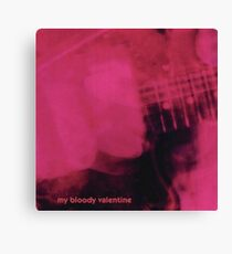 Loveless - My Bloody Valentine Canvas Print
