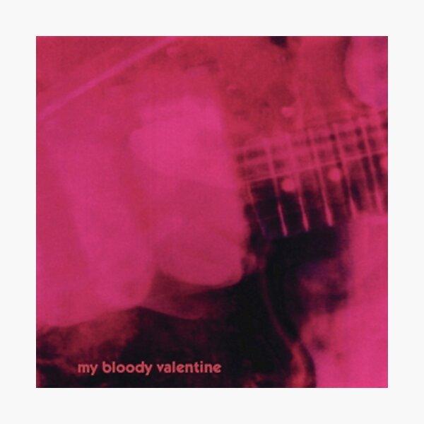 Loveless - My Bloody Valentine Photographic Print