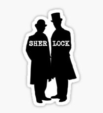 Detective and Doctor Sticker