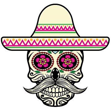 skull hat pink by fabien-p