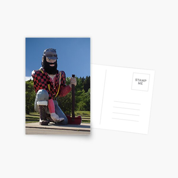 Paul Bunyan Postcard