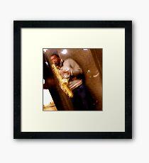 Trumpet (HDR) Framed Print