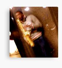 Trumpet (HDR) Canvas Print