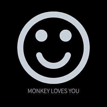 Black Mirror Netflix - Black Museum - Monkey loves you by minimalists
