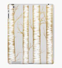 Metallic Birch Trees iPad Case/Skin