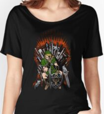 Zelda Game Of Thrones Women's Relaxed Fit T-Shirt