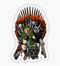 Zelda Game Of Thrones Sticker