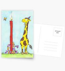 Bonne Anniversaire Postcards