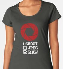 I Shoot? - Photography Women's Premium T-Shirt