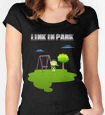 Zelda Link In Park Women's Fitted Scoop T-Shirt