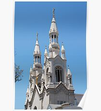 Steeple of Sts Peter and Paul Poster
