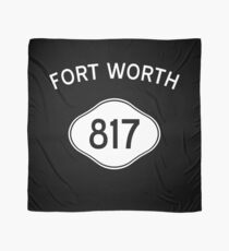 Forth North 817 Texas Vintage Area Code Scarf