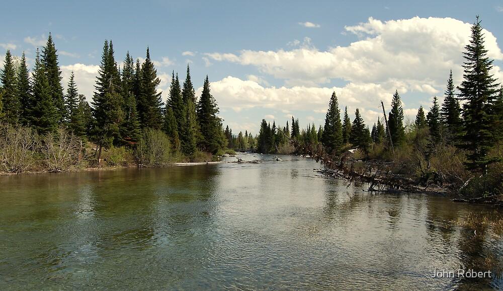 Teton River Trail by Bob Moore