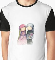 Lovers, watercolor Graphic T-Shirt