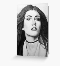 Katherine McNamara Greeting Card