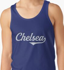 Chelsea - England - Vintage Sports Typography Tank Top