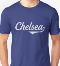 Chelsea - England - Vintage Sports Typography Unisex T-Shirt
