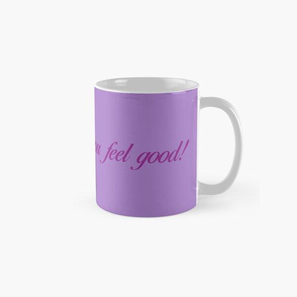 Singing Makes You Feel Good - Purple Letters Classic Mug