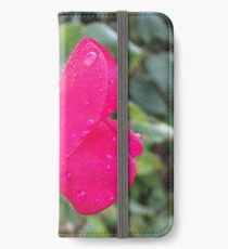 Pink sweet pea iPhone Wallet/Case/Skin