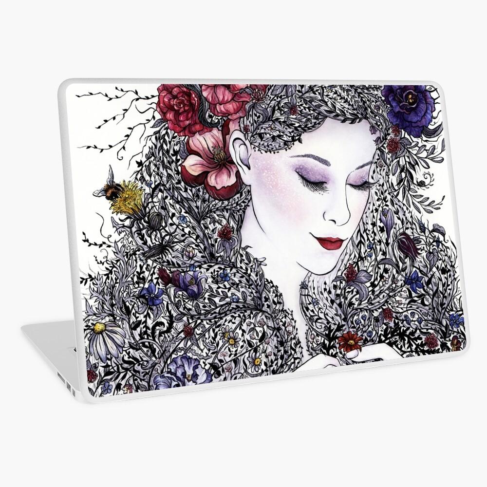 Fair Flora Laptop Skin