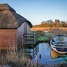 Row Boat and the Thatcher  by Jim Key