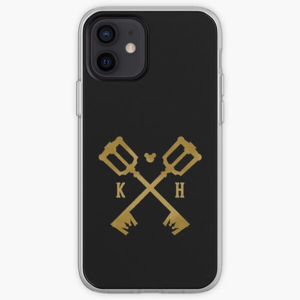 Crossed Kingdom Keys iPhone Soft Case
