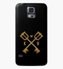 Crossed Kingdom Keys Case/Skin for Samsung Galaxy