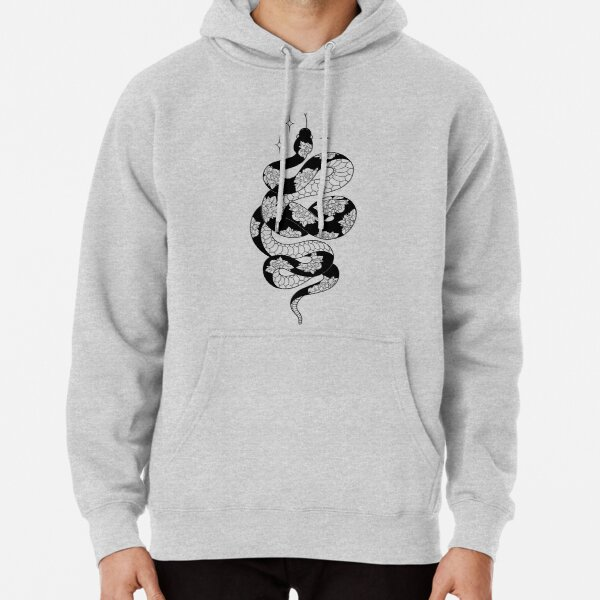 Pretty Danger Noodle Pullover Hoodie