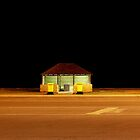 Road at Night ...Shark Bay by Angelika  Vogel