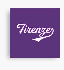 Firenze - Florence - Italia - Italy - Tuscany - Vintage Sports Typography Canvas Print