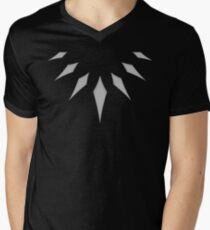 Black Panther - T'challa's Wakandan Claw Necklace Men's V-Neck T-Shirt