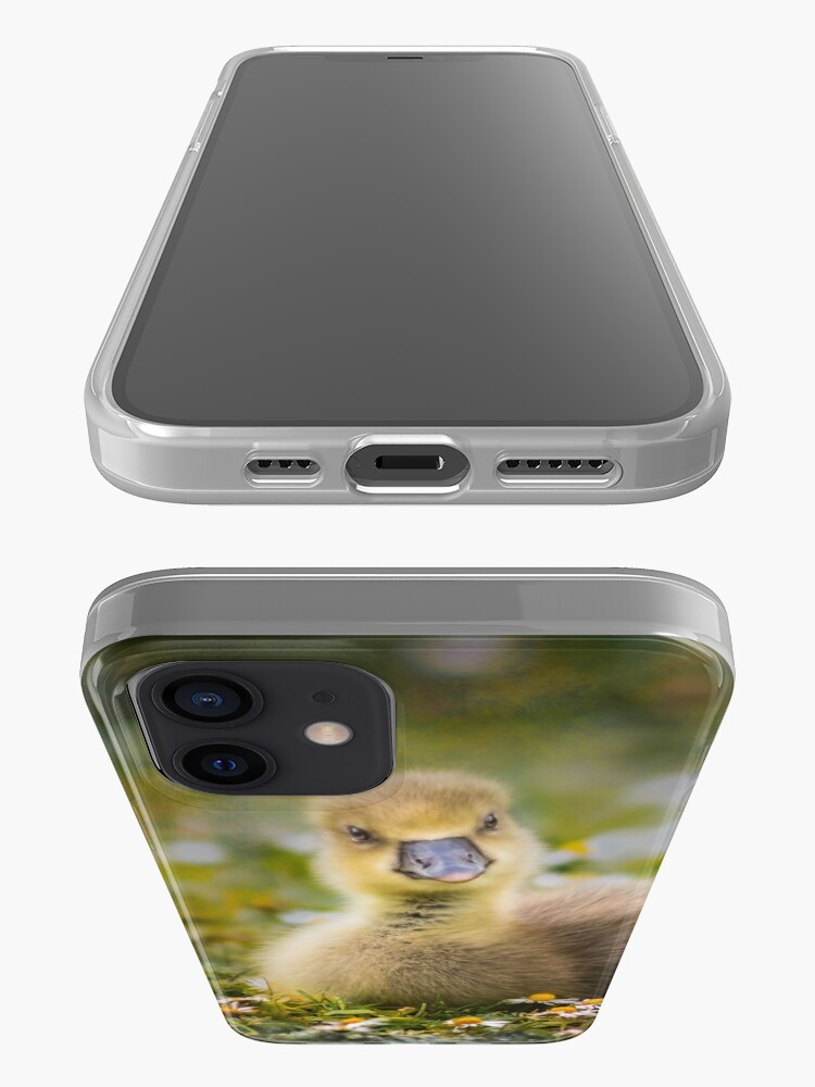 Alternate view of the quizzical gosling iPhone Case & Cover