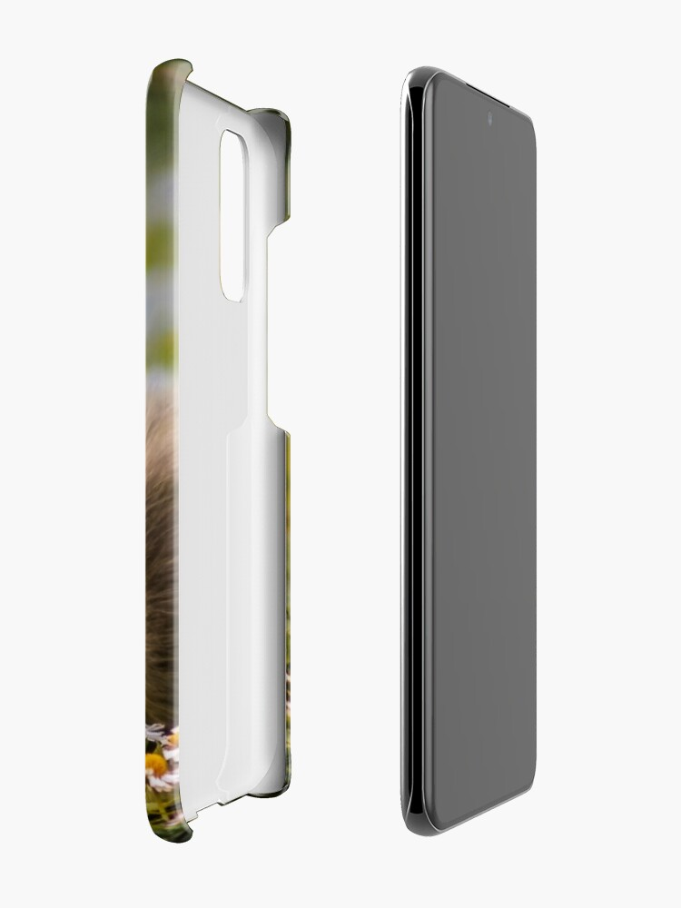 Alternate view of the quizzical gosling Case & Skin for Samsung Galaxy