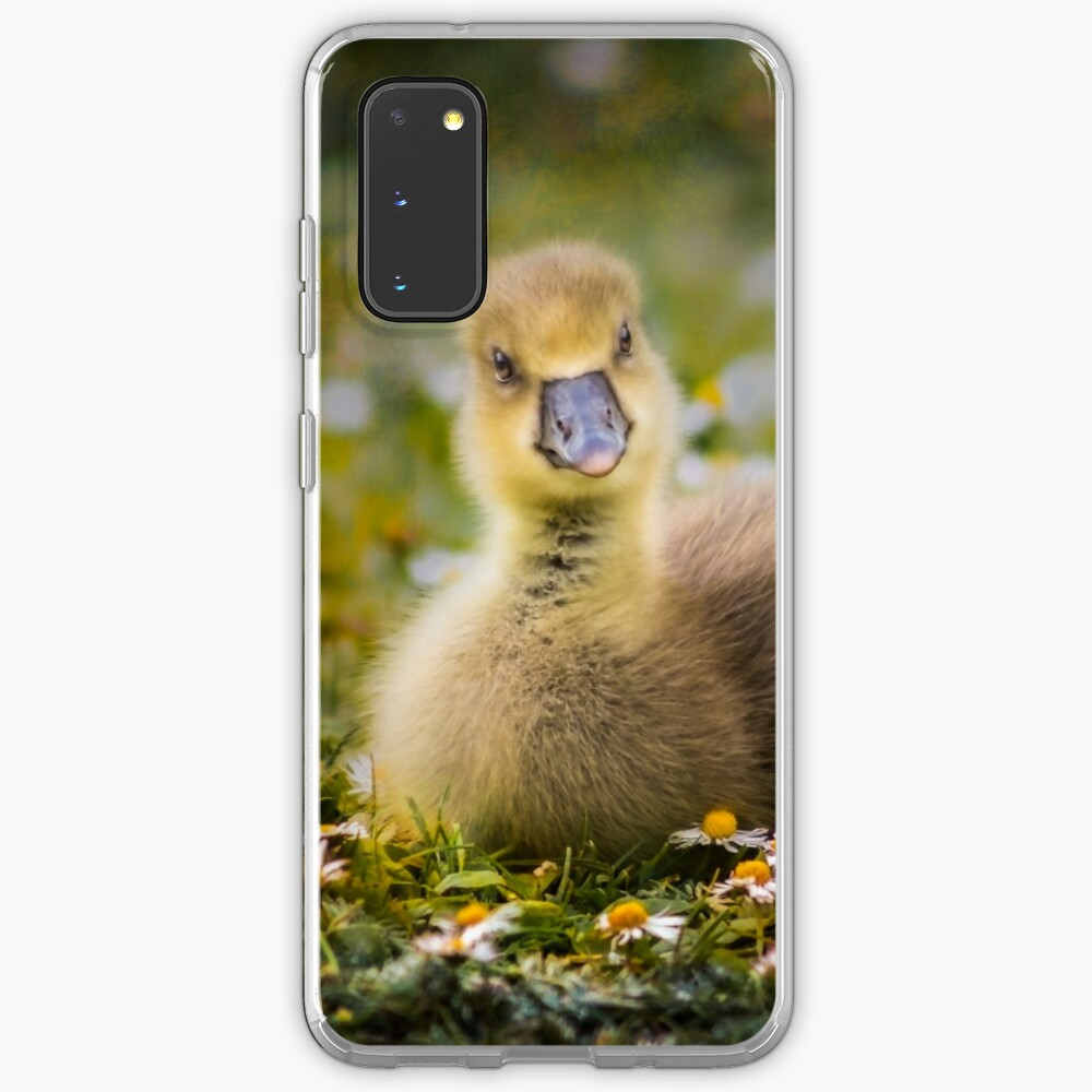 the quizzical gosling Case & Skin for Samsung Galaxy