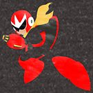 Project Silhouette 2.0: Proto Man by innergeekdesign