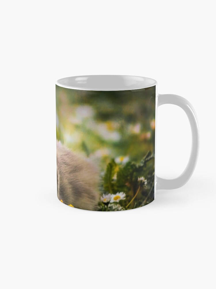Alternate view of the quizzical gosling Mug