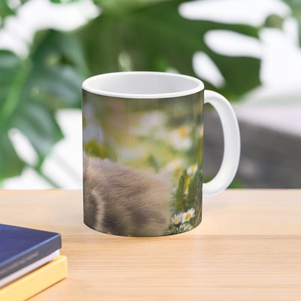 the quizzical gosling Mug