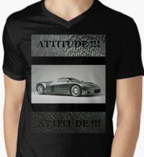 Attitude 018 Men's V-Neck T-Shirt