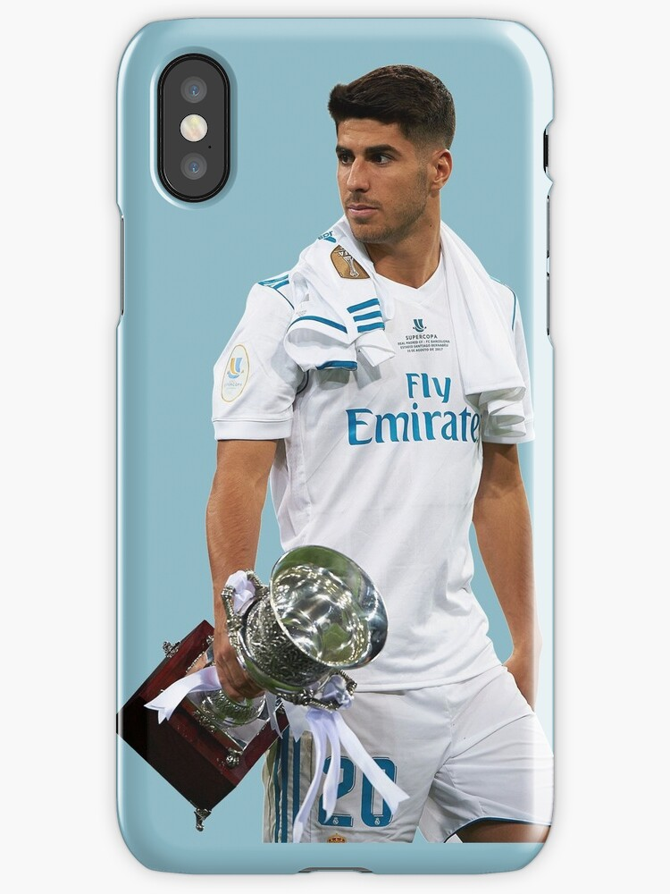 Vinilos y fundas para iphone marco asensio real madrid de monika redbubble - Fundas del real madrid ...