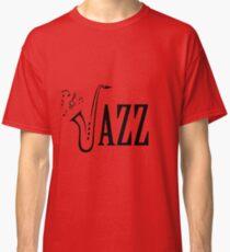 Jazz shirt design - Cool Musicial shirt Classic T-Shirt