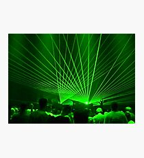 Global Lasers Photographic Print
