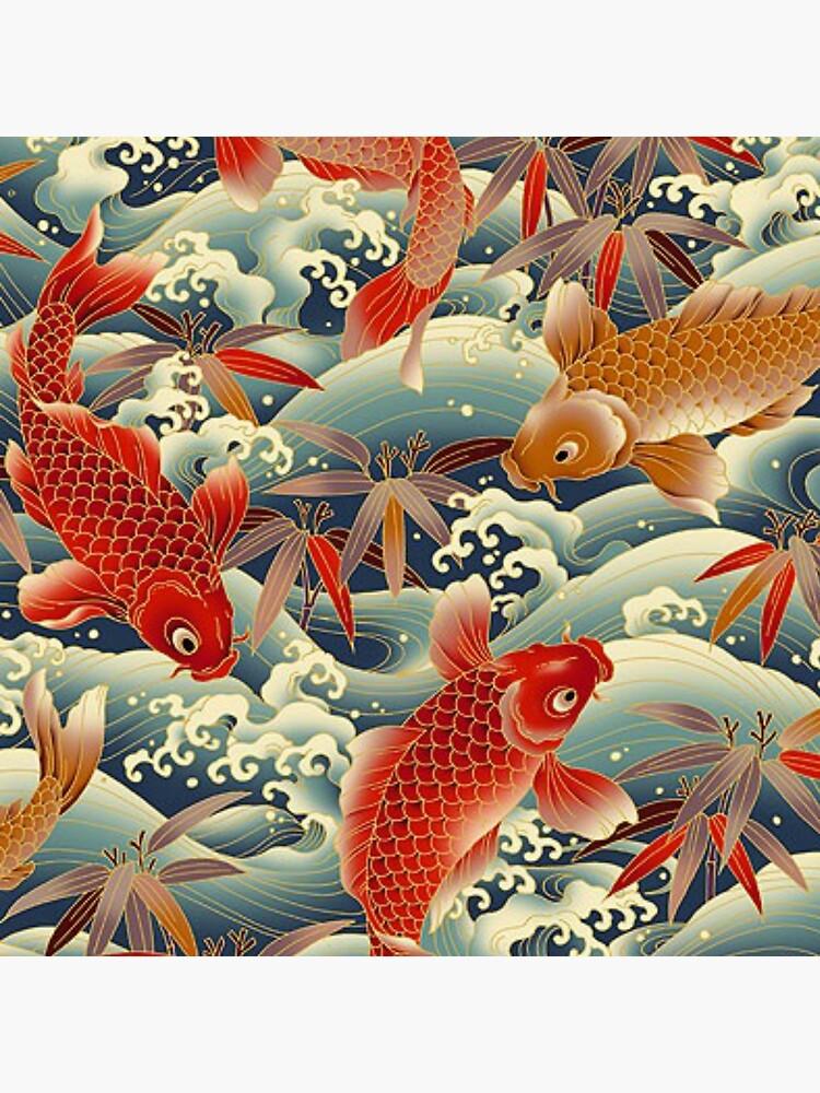 Asien Fischmuster von Sarahfaitcaca01