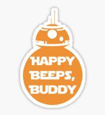 Happy Beeps Sticker
