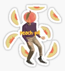 Neil Peach Sticker