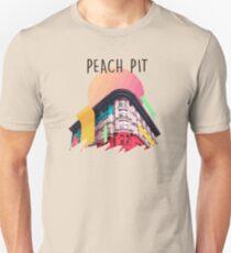 peach pitt moon Unisex T-Shirt