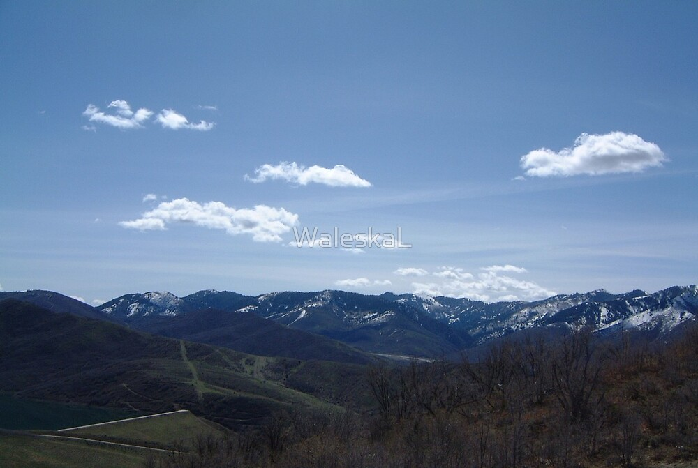 Mountains and Clouds by WaleskaL