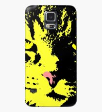 ANGRY CAT POP ART - YELLOW BLACK RED Case/Skin for Samsung Galaxy
