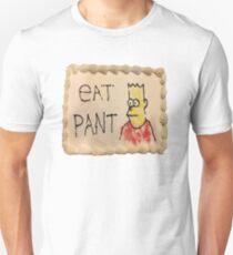 eat pant meme bart Unisex T-Shirt