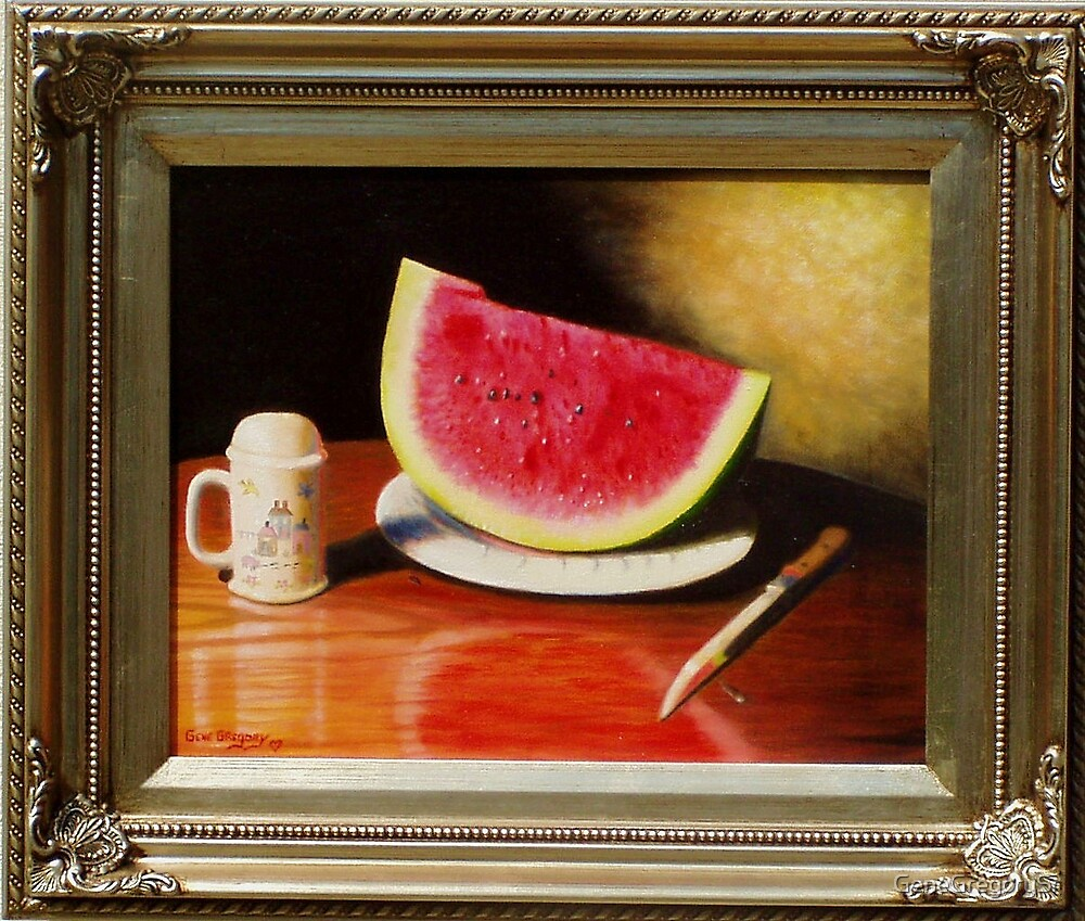 Watermelon time by GeneGregorySr