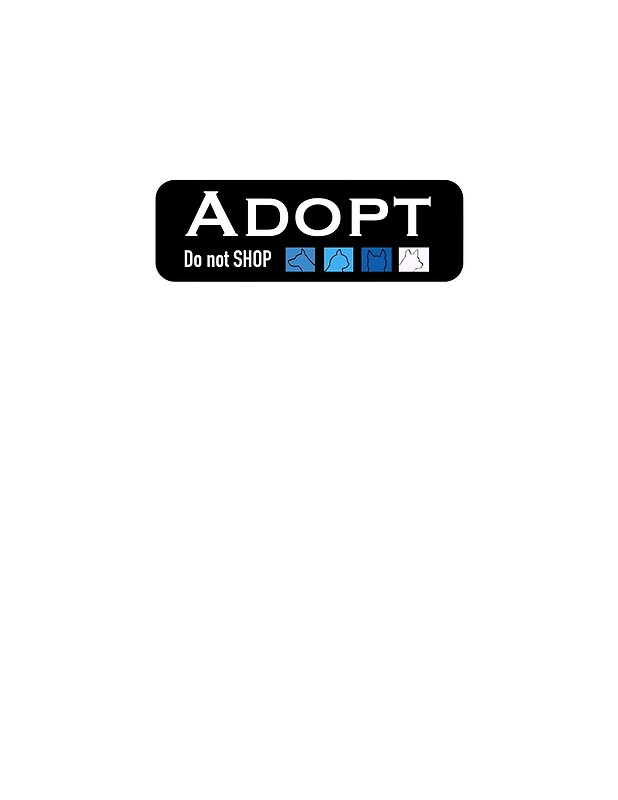 adopt don t shop Buy adopt don't shop cat t-shirt for pet adoption advocates: shop top fashion brands novelty at amazoncom free delivery and returns possible on eligible purchases.